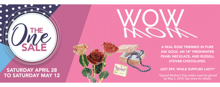 Slider – Mother's Day Wow Sale