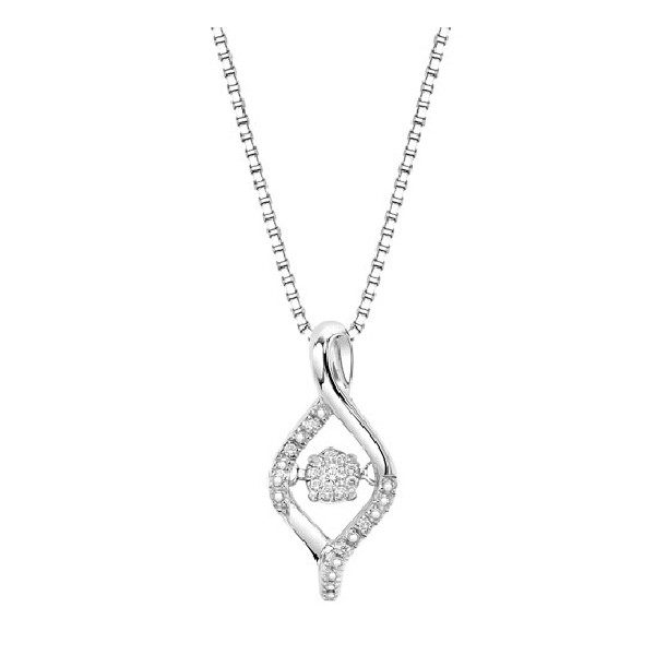 Sterling Silver Rhythm Of Love Pendant Dominic S Fine Jewelry
