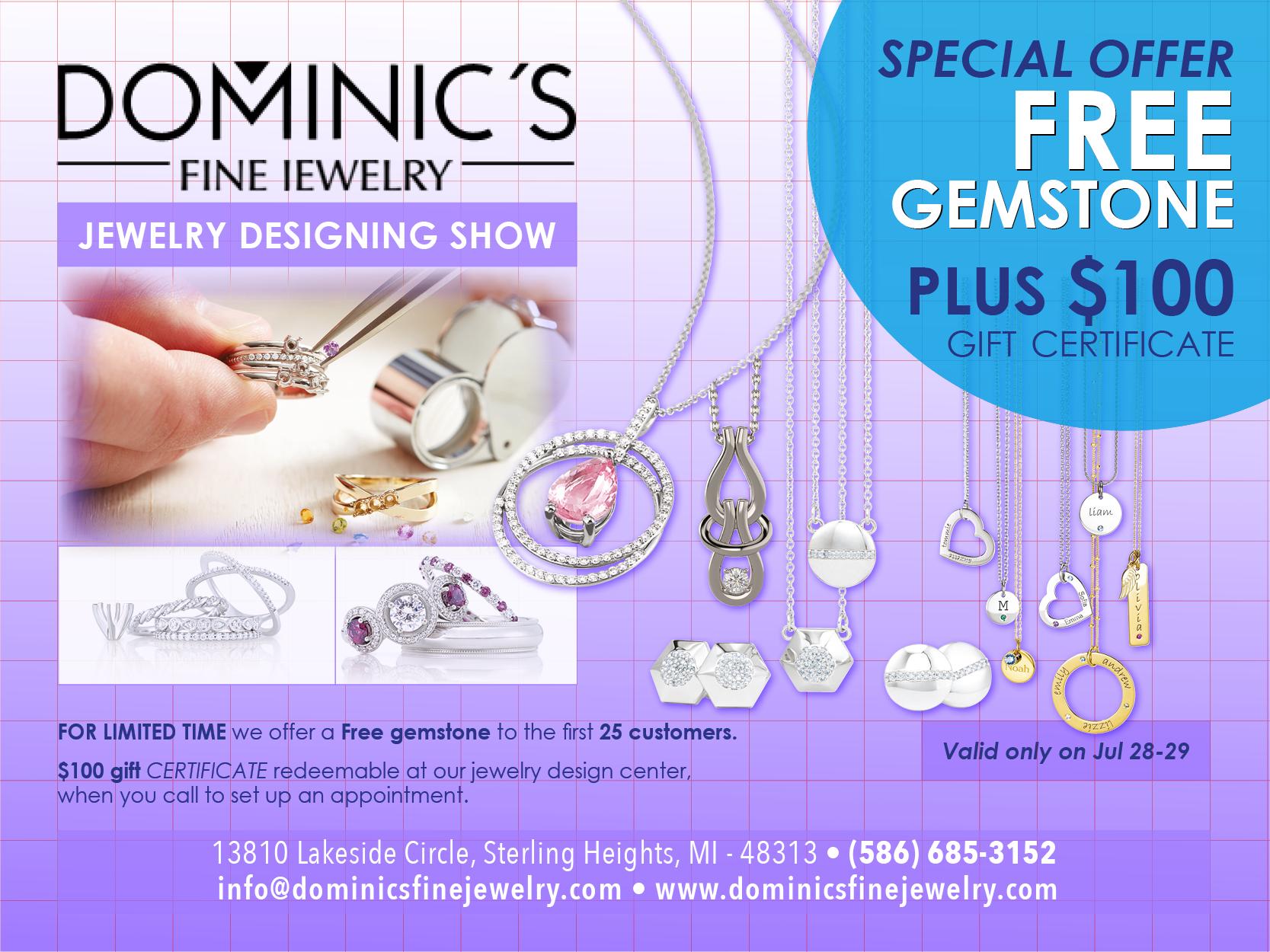 Jewelry designing show FBpost