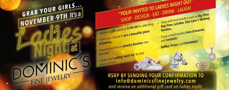 Ladies Night At Dominic's