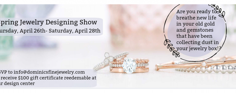 Spring jewelry designing show
